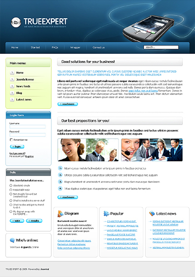 Template joomla site de rencontre