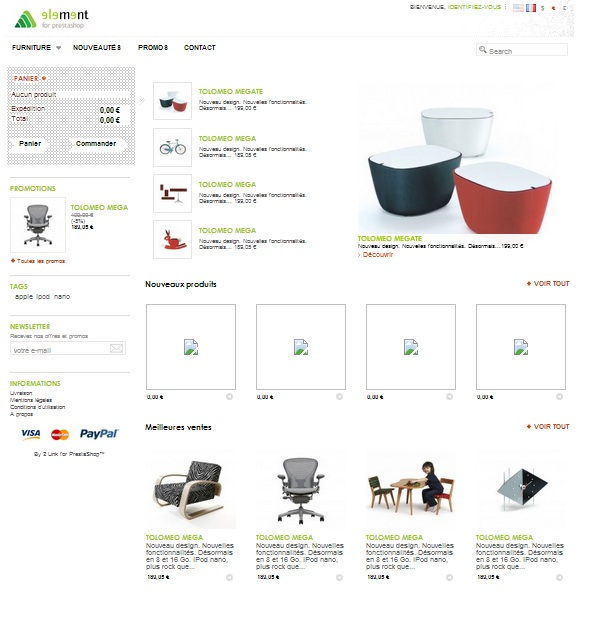 element-theme-prestashop-gratuit