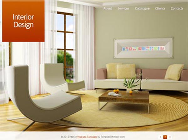 3 templates html pour site de design d 39 int rieur beauxthemes for Site de design interieur
