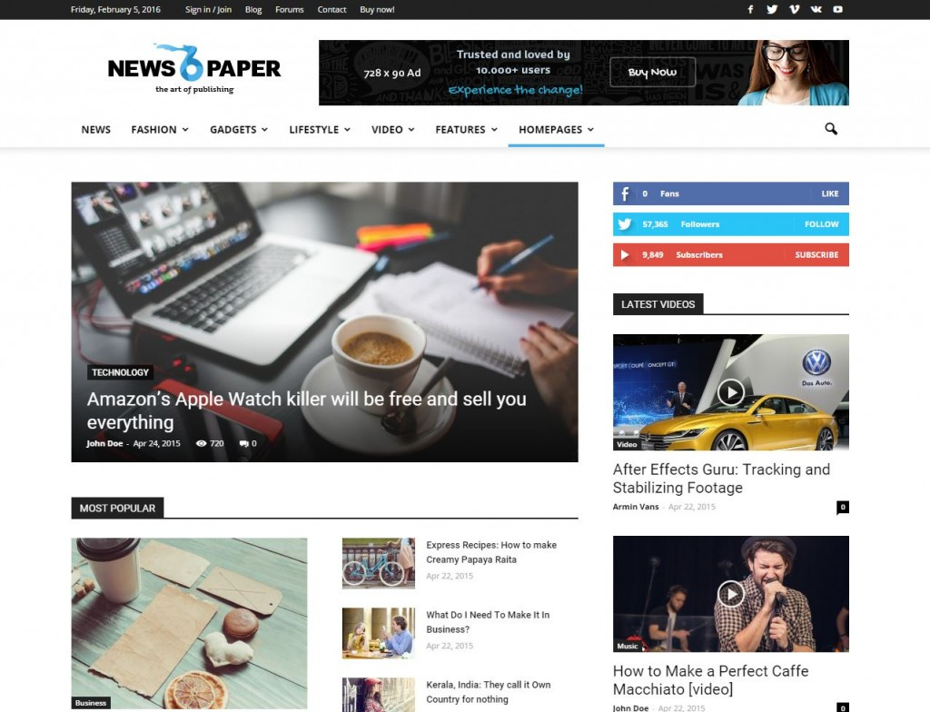 newspaper-theme-wordpress-magazine-news-blog