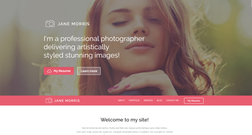 janemorris-template-html-css-photographe